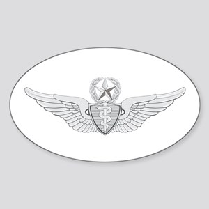 Master Flight Surgeon Sticker (Oval)